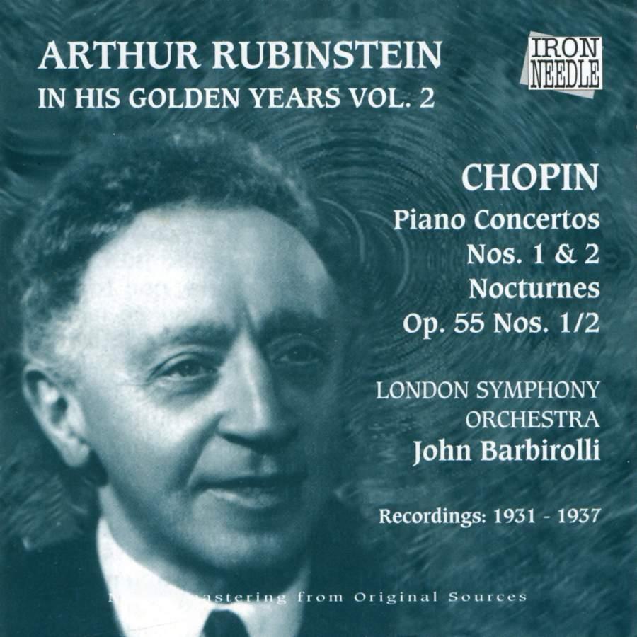 Arthur Rubinstein - In His Golden Years, Vol  2 - Iron