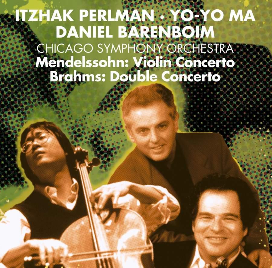 Itzhak Perlman, Yo-Yo Ma & Daniel Barenboim - Warner Classics