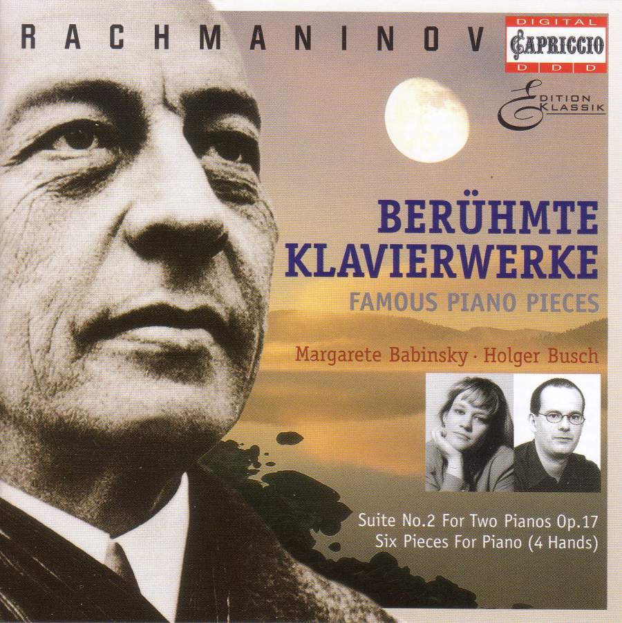Rachmaninov: Famous Piano Pieces (for four hands