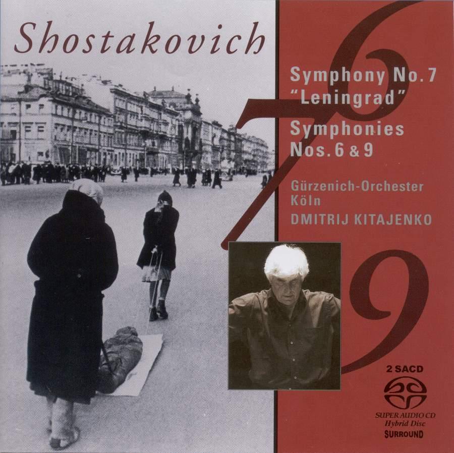Shostakovich: Symphonies Nos  6, 7 & 9 - Capriccio: C71033-34 - 2