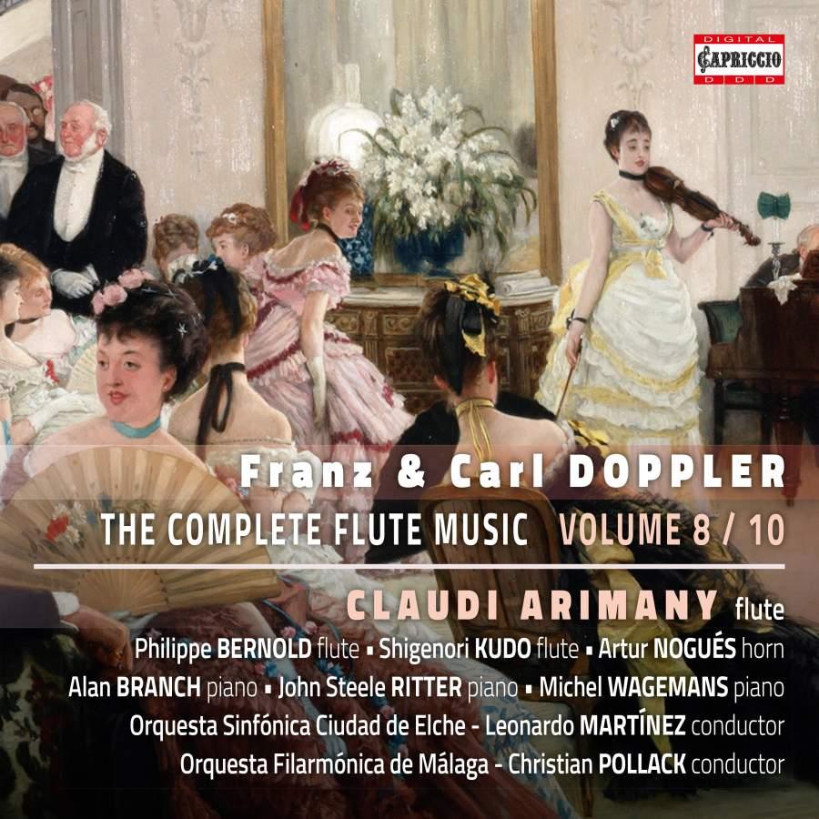Franz & Carl Doppler: The Complete Flute Music, Vol  8 - Capriccio