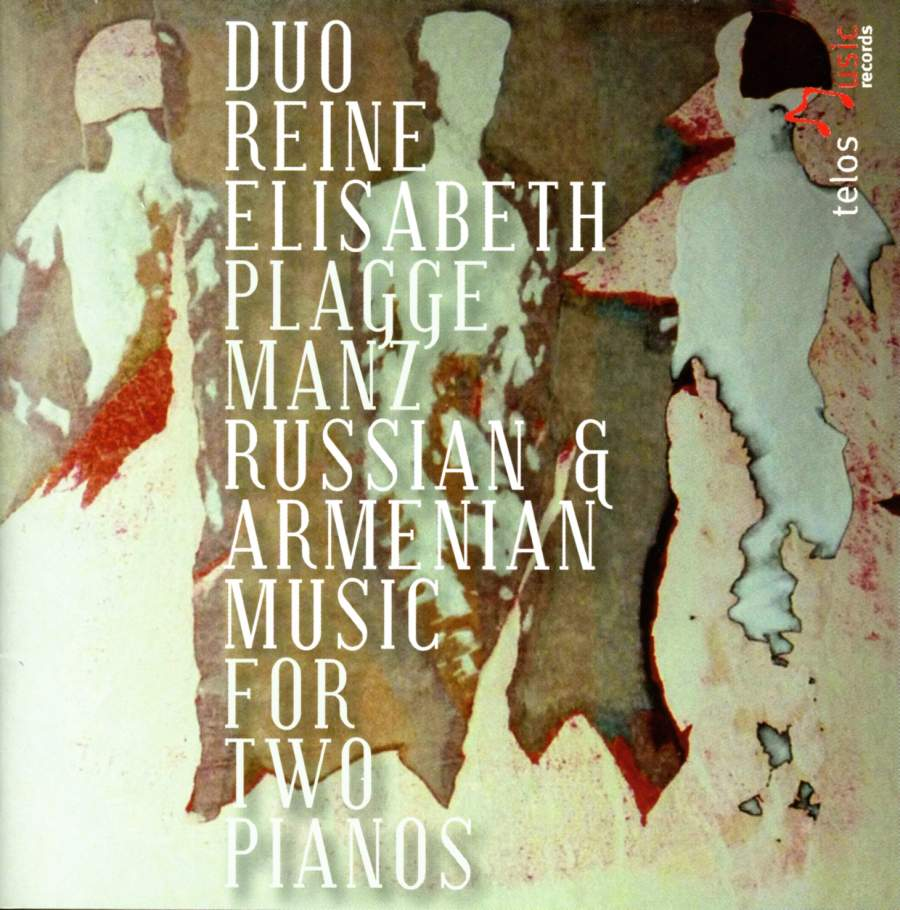 Russian and Armenian Music for two pianos - Telos Music: TLS014 - CD