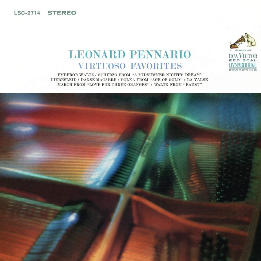 Leonard Pennario Plays His Virtuoso Favorites - RCA
