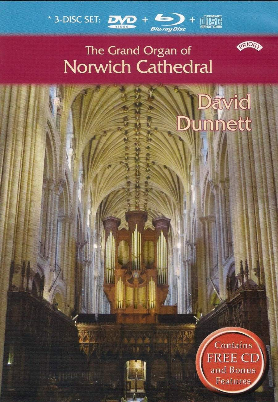 The Grand Organ of Norwich Cathedral - Priory: PRDVD11 - DVD Video ...