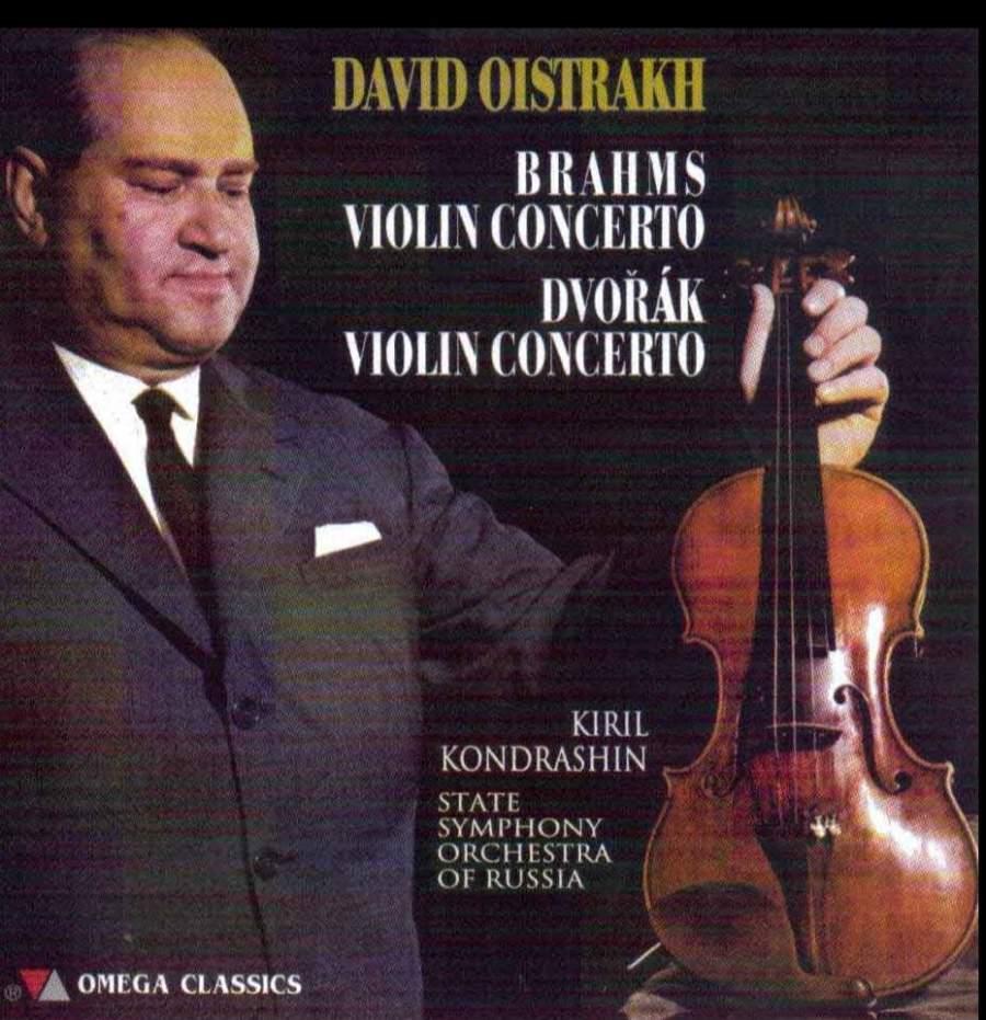 Brahms & Dvorak: Violin Concertos - Vanguard Classics: OCD1024 - CD ...